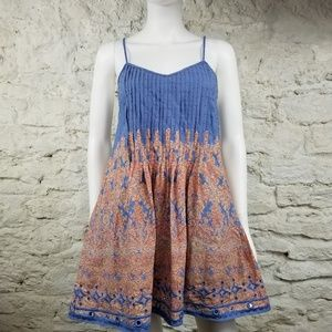 Paisley Print Sundress by Kate Moss for Topshop